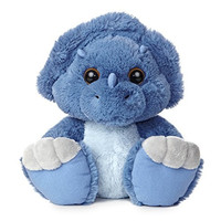 Aurora World Taddle Toes Toughie Triceratops Plush