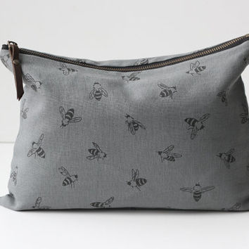 Bees Large Pouch/Clutch