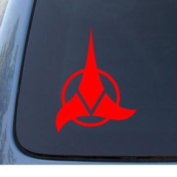 KLINGON - Star Trek - Car, Truck, Notebook, Vinyl Decal Sticker