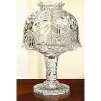 Fifth Avenue Crystal Portico 7-1/2-Inch Mini Candle Lamp
