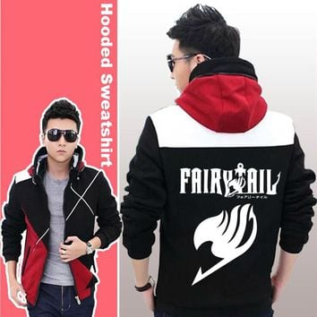 Anime Fairy Tail Casual Sweatshirt Hoodie Jacket