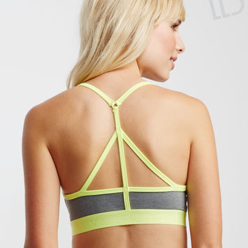LLD Jaspé Thin Strap Padded Sports Bra