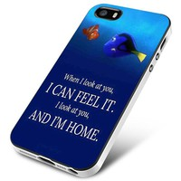 Dory and Nemo Quotes iPhone 5 | 5S | 5SE Case Planetscase.com