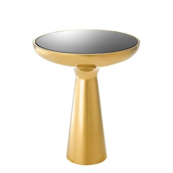 Gold Tower Side Table | Eichholtz Lindos Low