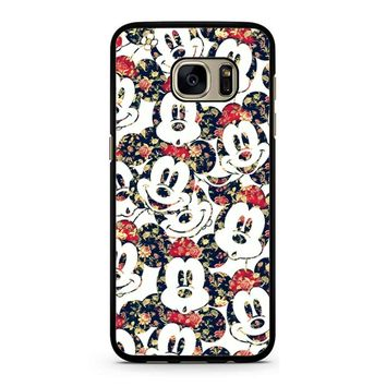 Mickey Mouse Wallpaper Samsung Galaxy S7 Case