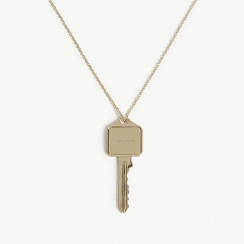 SAINT LAURENT Key pendant necklace