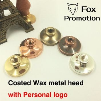 Customize Wax Stamp Head Coated,DIY Ancient Seal Retro Stamp,Personalized Stamp Wax Seal custom design Stainless High Quality