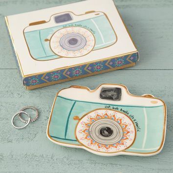 Monterey Camera Trinket Dish By Natural Life