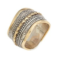 Konstantino 'Hebe' Wavy Etched Band Ring   Nordstrom