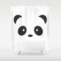 panda Shower Curtain by Steffi ~ findsFUNDSTUECKE