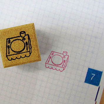 Japanese Rubber Stamp for Filofax,PostCard,tiny stamp,planner,Calendar, scheduler diary and for designers,cool japan ,Kanji,meal
