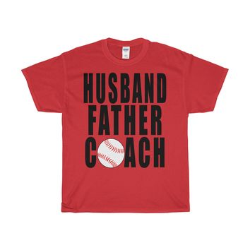 FOOTBALL HUSBAND FATHER COACH T-Shirt