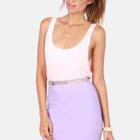Pencil You In Lavender Pencil Skirt