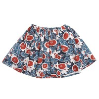 Marni Girls Blue and Red Floral Skirt