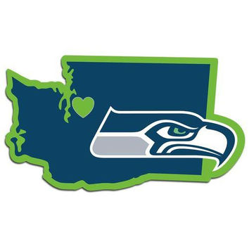 Seattle Seahawks Decal Home State Pride