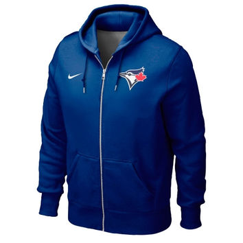 Toronto Blue Jays Nike Classic Full Zip Hoodie 1.2 – Royal Blue