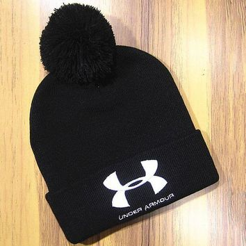 LMOFN1 Perfect Under Armour Hip Hop Women Men Beanies Winter Knit Hat Cap