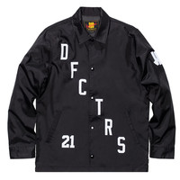Undefeated: Defectors Coaches Jacket - Black