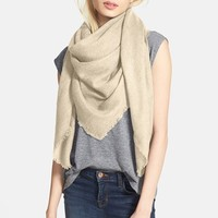 Women's Hinge Texture Square Scarf