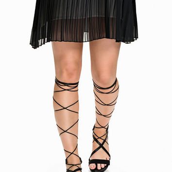 Flat Lace Up Sandal, NLY Shoes