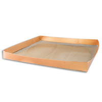 Cooks Innovations® Nonstick Copper Oven Crisper Basket
