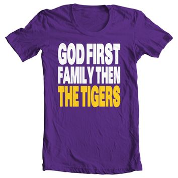 God First, Family Then Tigers