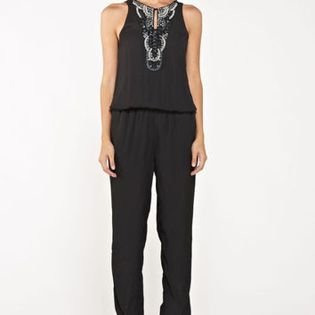 Beaded Jumpsuit