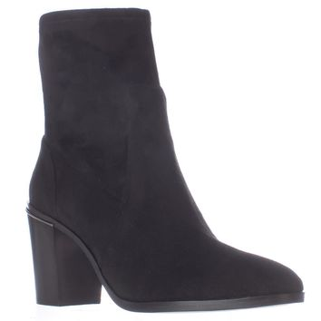 MICHAEL Michael Kors Chase Ankle Booties, Black, 9.5 US / 40.5 EU