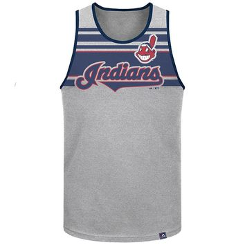 Majestic Cleveland Indians Sweeping Series Tank Top