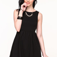 Pleated Skater Dress - LoveCulture