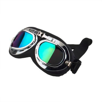 New Arrival motorcycle goggle GOGGLES racing bicycle bike Scooter Cruiser Helmet Eyewear glasses