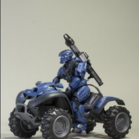 Halo Reach McFarlane Toys Deluxe Vehicle with Action Figure Boxed Set Rocket ...