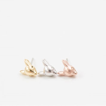 cute bambi  head earrings
