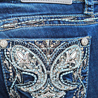 GRACE IN L.A. AMBITION BOOTCUT JEANS