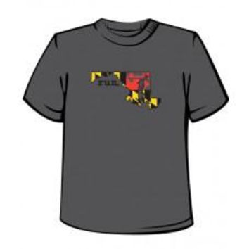 Maryland Running Mens Technical Tee