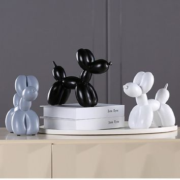 New Fashion Resin Crafts Sculpture Creative Gifts Modern Simple Home Decorations Statues 8 Colors Desktop Ornament