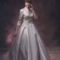 Style #B2028 Darius Cordell 3/4 Sleeve Ball Gown for Mother of the Bride