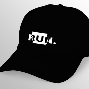 Iowa RUN. Cap