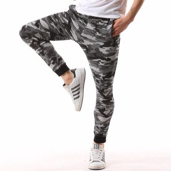 Lightweight Elastic Waist Fashion camo sweatpants men Casual Cotton Army tactical military design jogger camouflage Pants 4XL