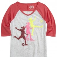 Sports Baseball Tee | Girls {category} {parent_category} | Shop Justice