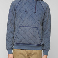 CPO Quilted Pullover Hoodie Sweatshirt - Urban Outfitters