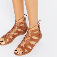 New Look Ghilly Tan Wedge Sandals