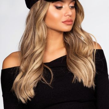 Bella Fiddler Cap - Black