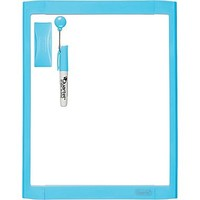 "Quartet® Dry-Erase Board, Blue, 8.5"" x 11\"" 