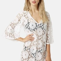 Women's Topshop 'Angel' Lace Caftan