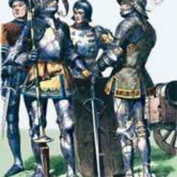 French Costumes: Burgundians in Armor