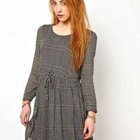 The Style Dress With Tie Waist at asos.com