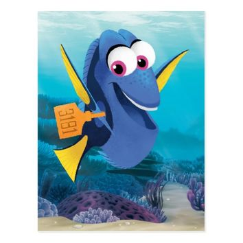 Dory | Finding Who Postcard