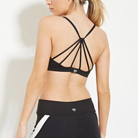 Low Impact - Strappy Sports Bra | Forever 21 - 2000169736