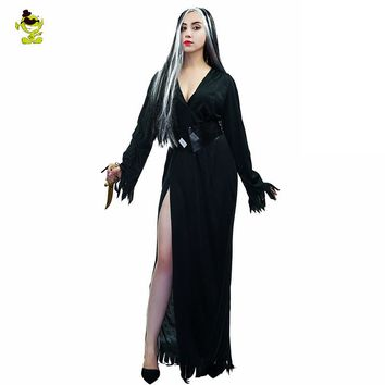 Europe Devil Corpse Bride Costume  Sexy Dress  New Halloween Cosplay 2017